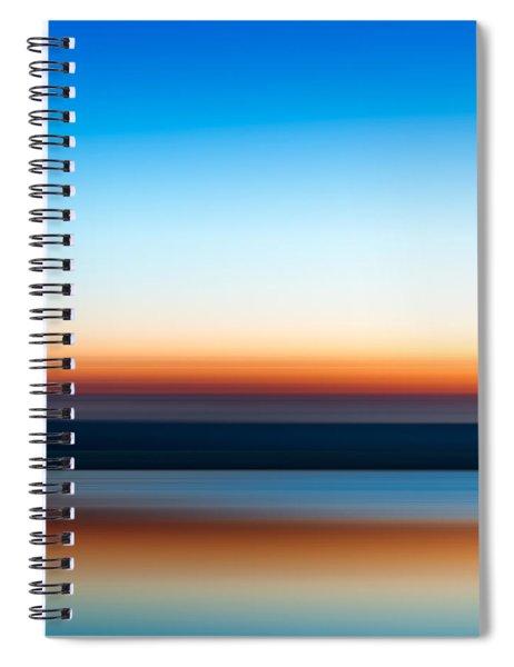 Sunset At Ottawa Lake Spiral Notebook