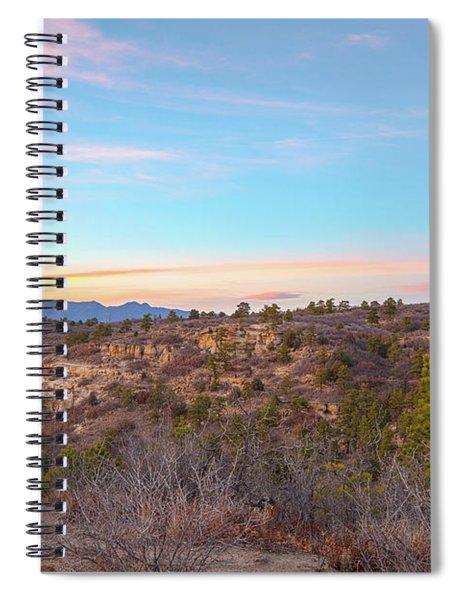 Sunset At Palmer Park Spiral Notebook