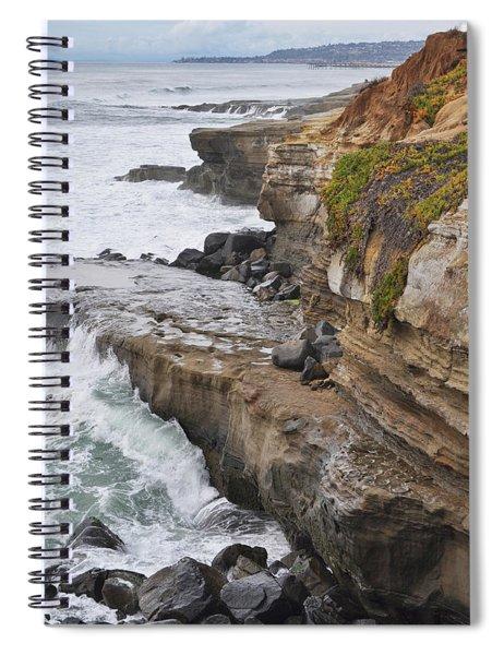 Sunset Cliffs San Diego Portrait Spiral Notebook