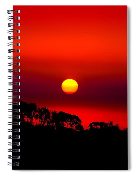Sunset Dreaming Spiral Notebook