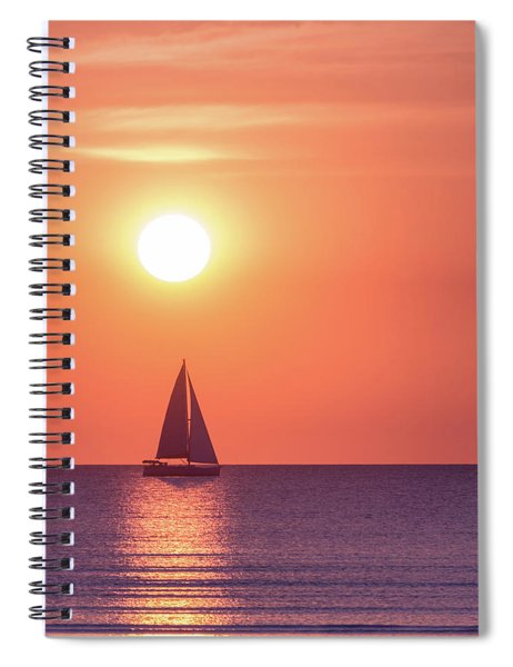 Sunset Dreams Spiral Notebook