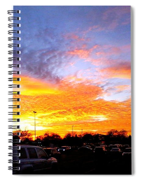 Sunset Forecast Spiral Notebook
