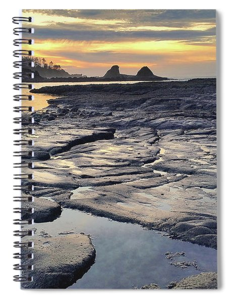 Sunset Glow Spiral Notebook