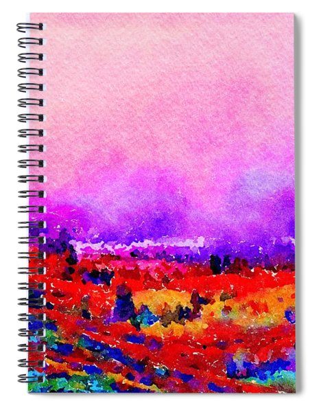 Sunset Hills Spiral Notebook