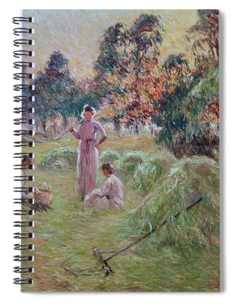 Sunset In Beynac-et-cazenac Spiral Notebook