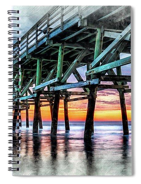 Sunset In Cherry Grove Spiral Notebook