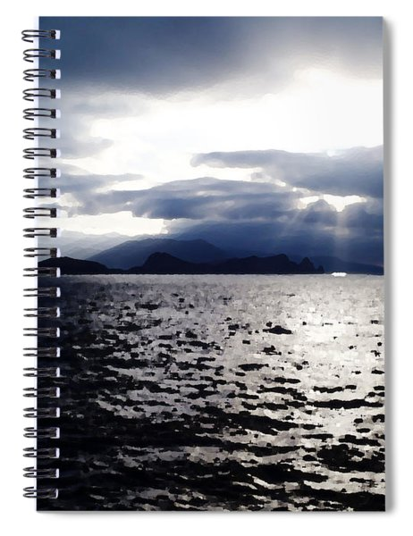 Sunset In Madeira Spiral Notebook