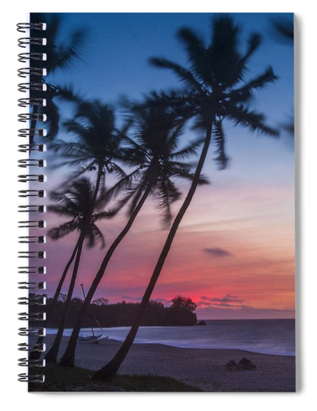 Sunset In Paradise Spiral Notebook