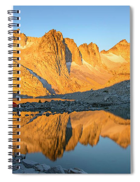 Sunset In The Enchantments Spiral Notebook