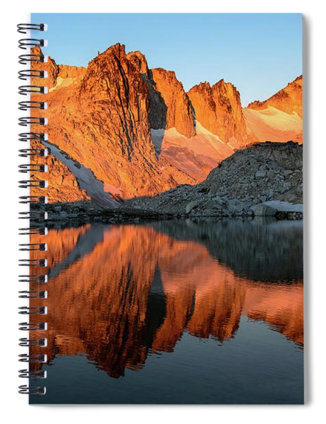 Sunset In The Higher Enchantment Spiral Notebook