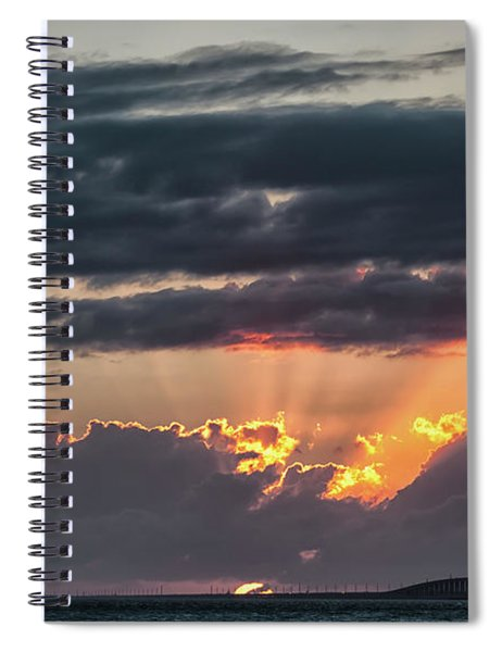 Sunset In The Keys Spiral Notebook