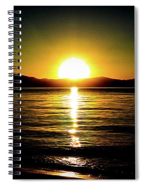 Sunset Lake 2 Spiral Notebook