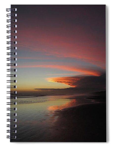 Sunset Las Lajas Spiral Notebook