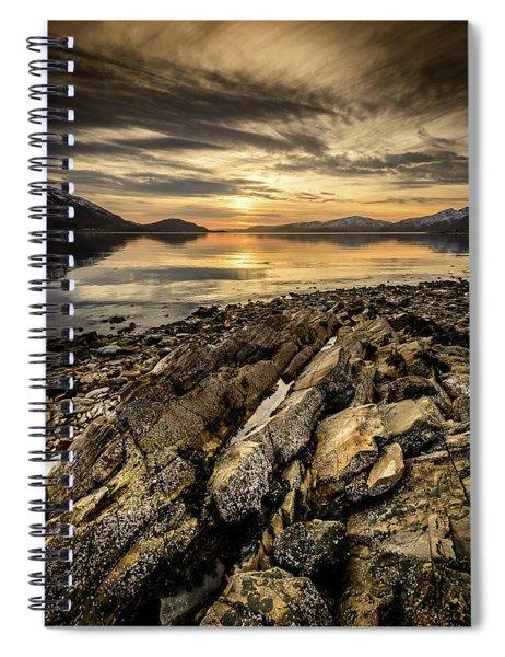Sunset, Loch Lochy Spiral Notebook