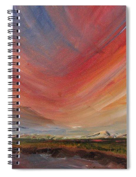 Sunset Marsh Spiral Notebook