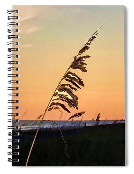 Sunset Memories Spiral Notebook