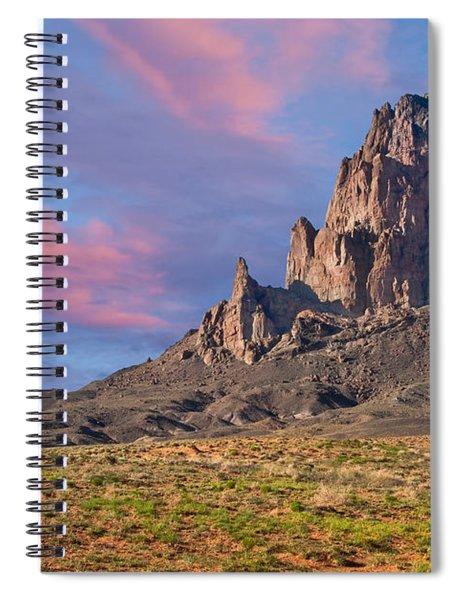 Sunset On Agathla Peak Spiral Notebook
