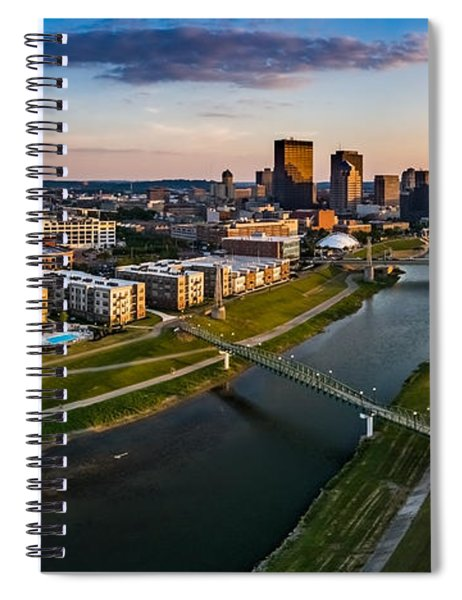Sunset On Dayton Spiral Notebook