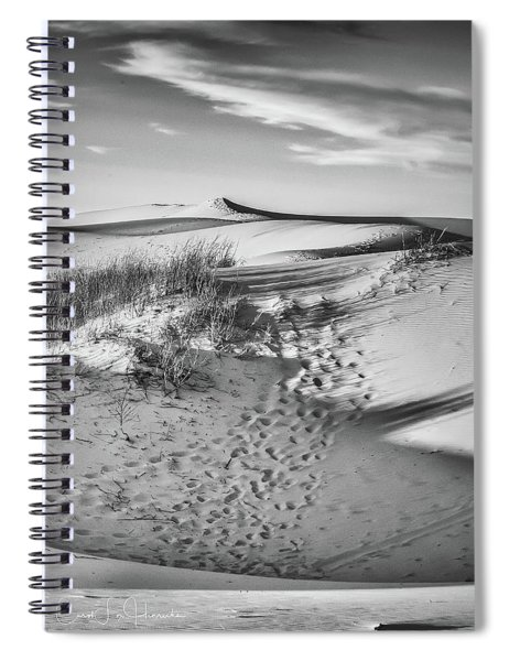 Sunset On The Dunes Spiral Notebook
