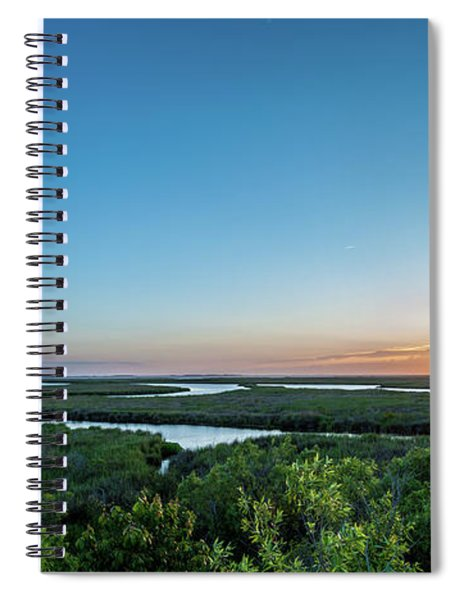 Sunset On The Outer Banks Spiral Notebook