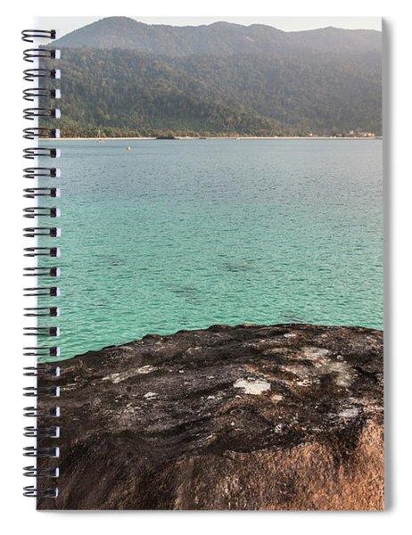 Sunset Over Tioman Island In Malaysia  Spiral Notebook