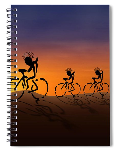 Sunset Riders Spiral Notebook