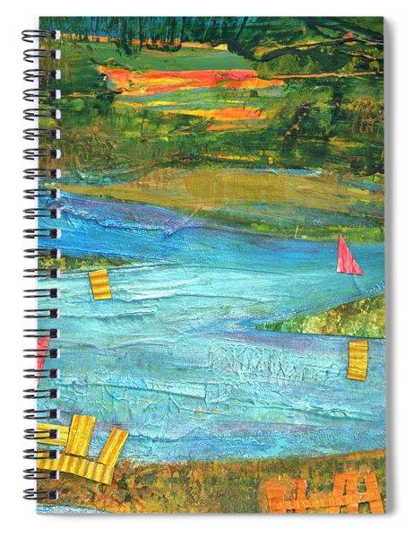 Sunset Sails 2 Spiral Notebook