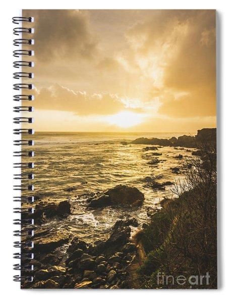 Sunset Seascape Spiral Notebook