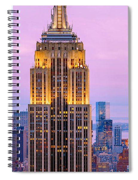 Sunset Skyscrapers Spiral Notebook