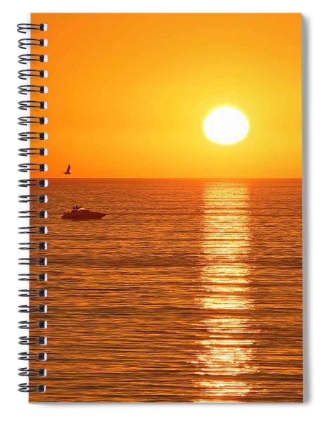 Sunset Solitude Spiral Notebook