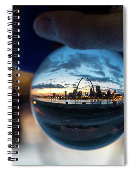Sunset St. Louis II Spiral Notebook