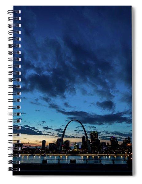 Sunset St. Louis IIi Spiral Notebook