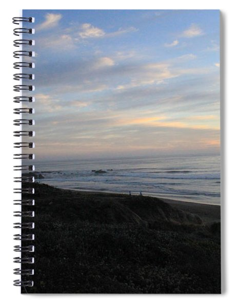 Sunset Surf Spiral Notebook