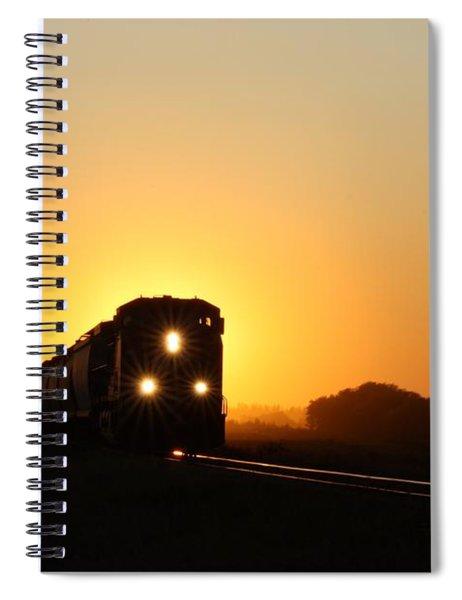 Sunset Express Spiral Notebook