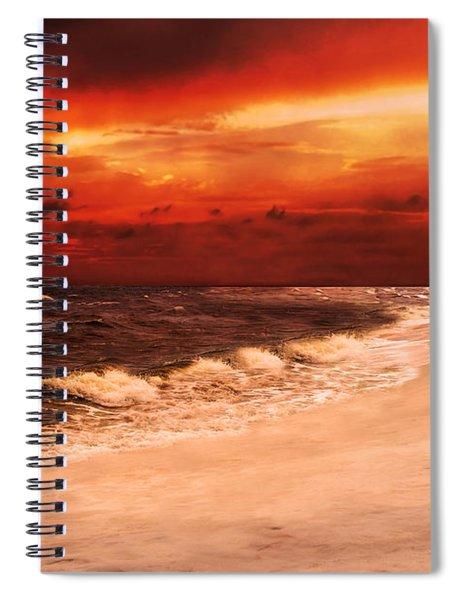 Sunset Walk Spiral Notebook