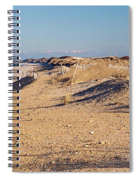 Sunshine And Sand Dunes Spiral Notebook