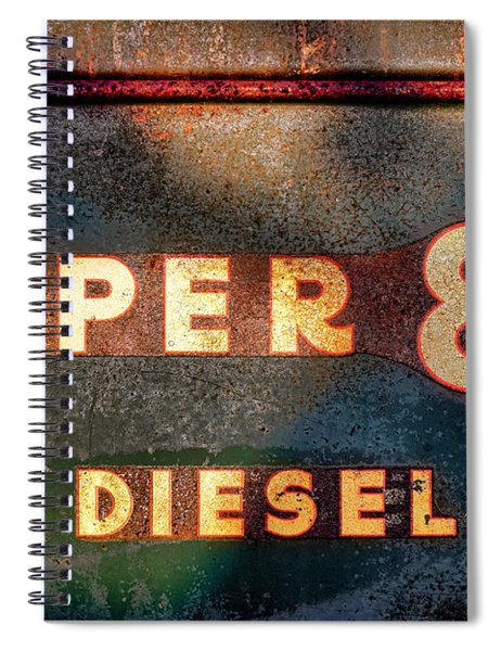 Super 88 Diesel Spiral Notebook