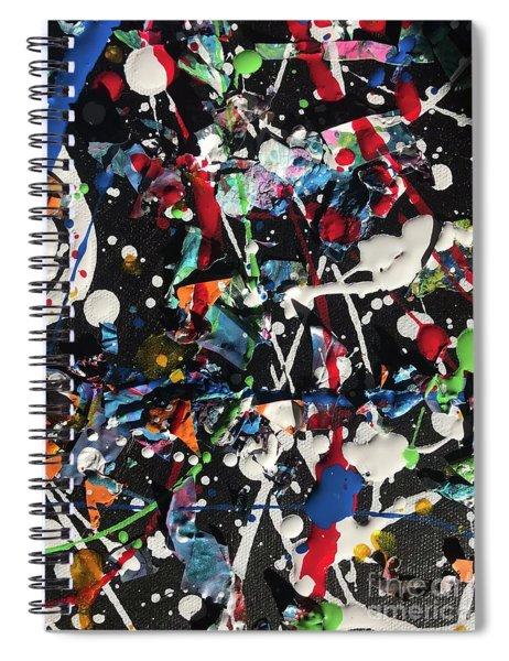 Super Bowl Celebration  Spiral Notebook