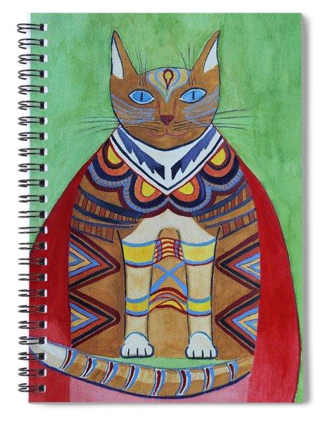Super Cat Spiral Notebook