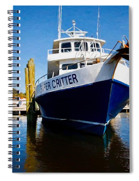Super Critter And The Lighthouse Spiral Notebook