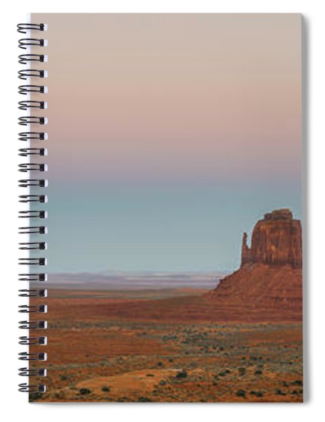 Super Moon In Monument Valley Spiral Notebook