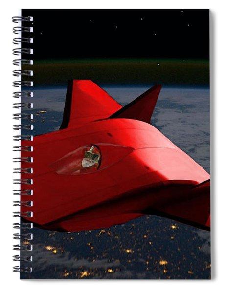Super Sleigh Spiral Notebook