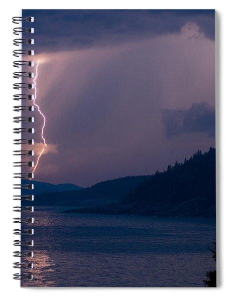 Superior Lightning     Spiral Notebook