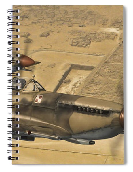 Supermarine Spitfire Spiral Notebook