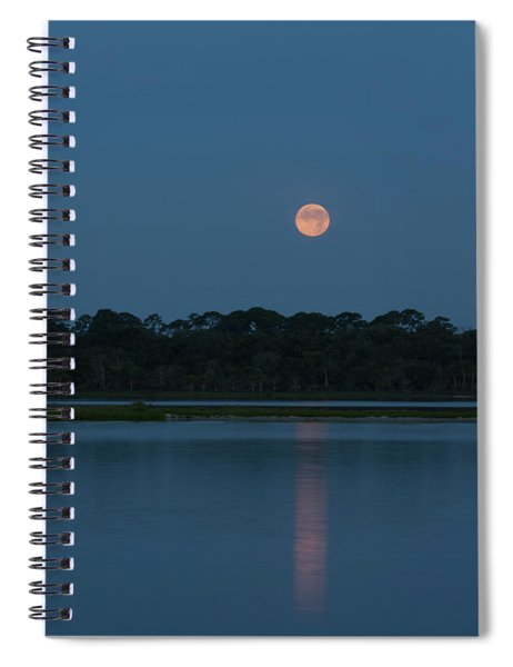 Supermoon Dawn 2013 #2 Spiral Notebook