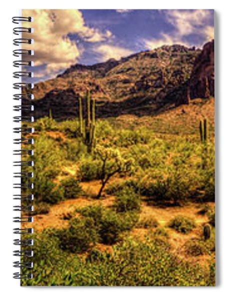 Superstition Mountain And Wilderness Spiral Notebook