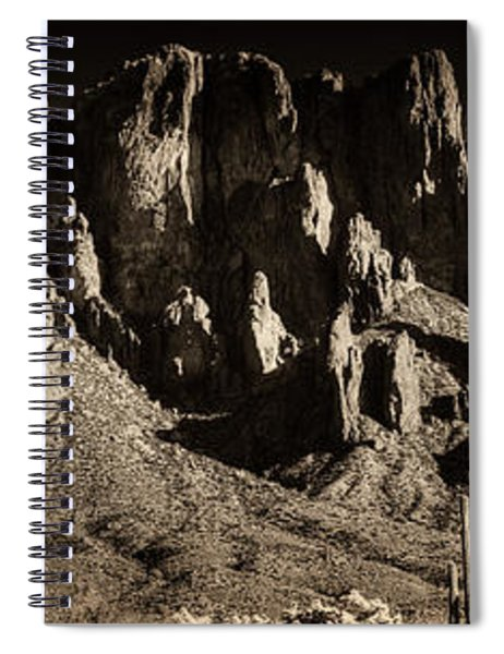 Superstition Mountain  Spiral Notebook