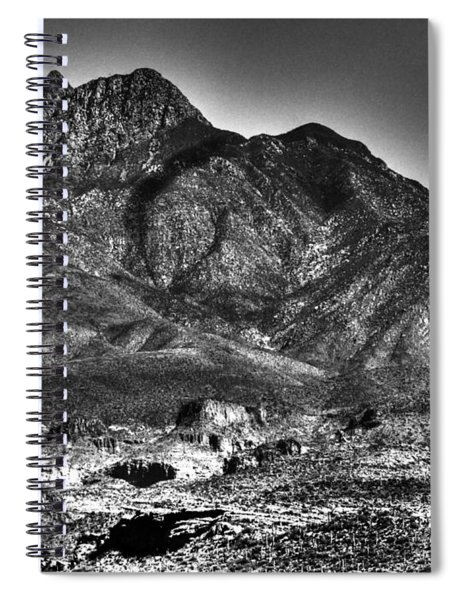 Four Peaks From Lost Dutchman State Park Spiral Notebook