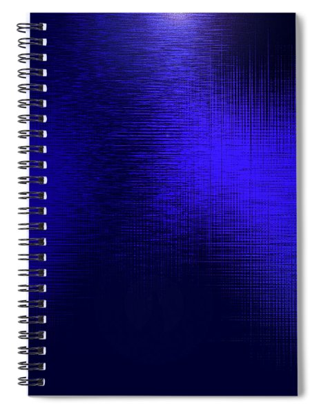 Spiral Notebook featuring the digital art Supplication 4 by Gina Harrison