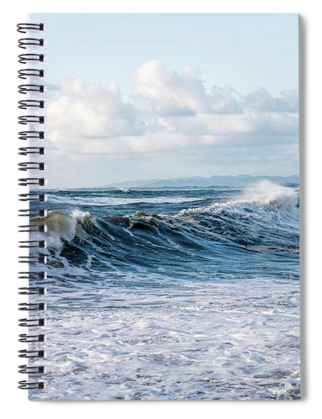 Surf And Sky Spiral Notebook